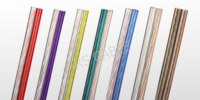 Transparent Speaker Cable