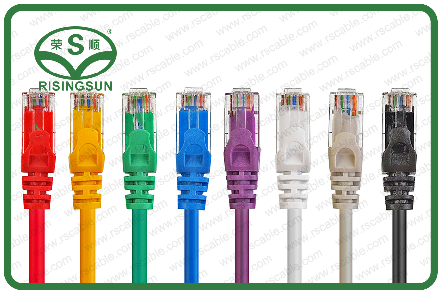 CAT5E Ethernet Network Patch Cable Snagless RJ45 Connector