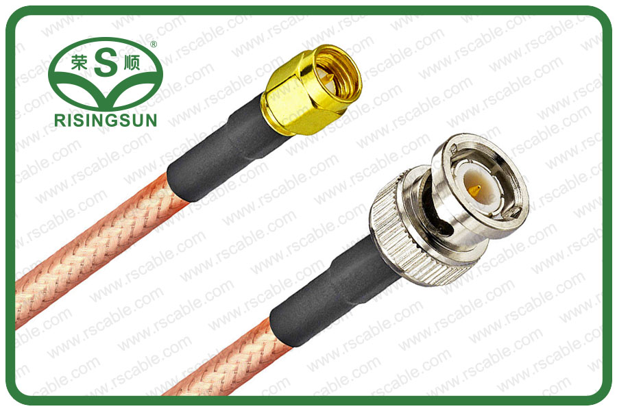 RG400 Coaxial Cable With BNC Male to SMA Male