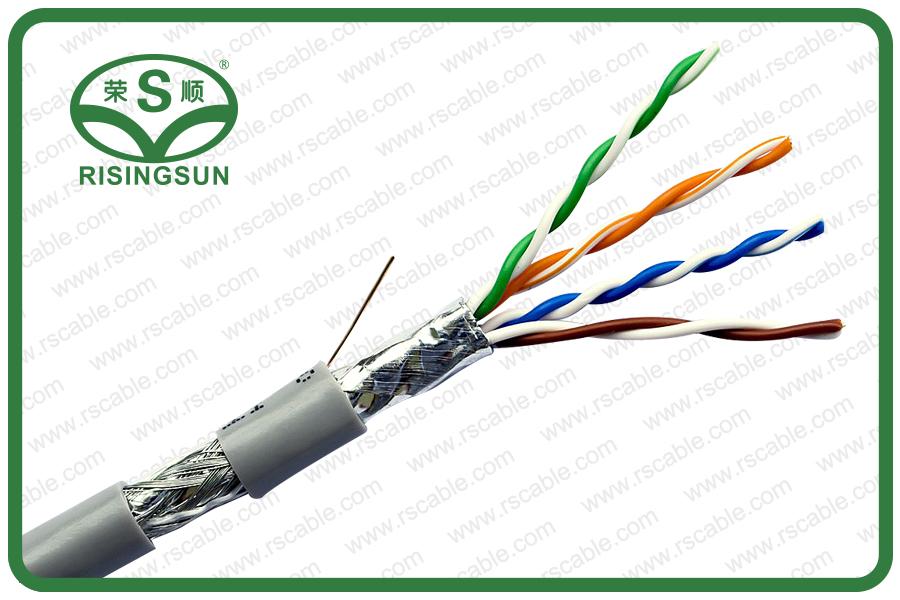 CAT5E-SF_UTP- 4Pairs-PVC