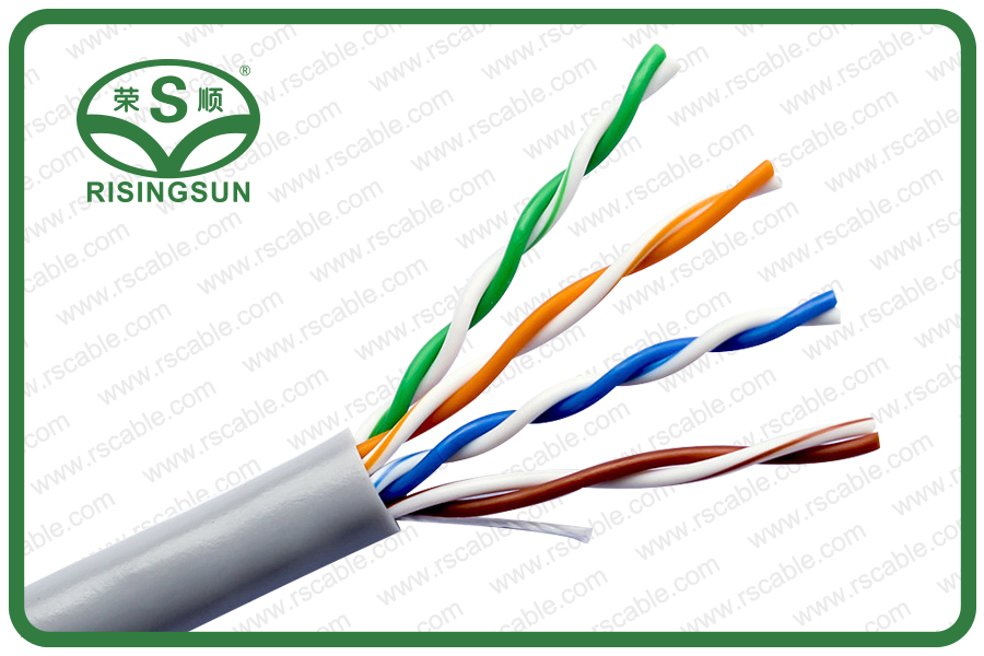 CAT5E-UTP-4Pairs-PVC