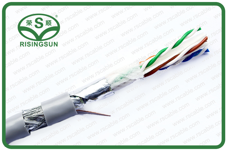 SF_UTP CAT6 4P-PVC-TC40