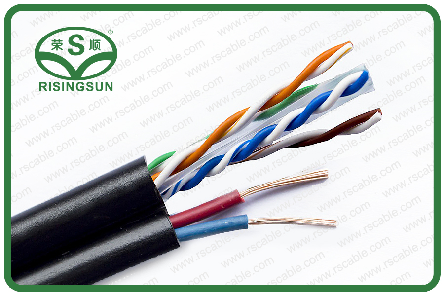 CAT6 With Power Cable