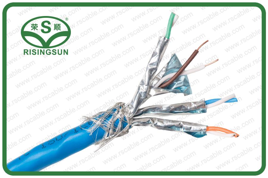 SFTP CAT7A 4P-LSZH-TC40